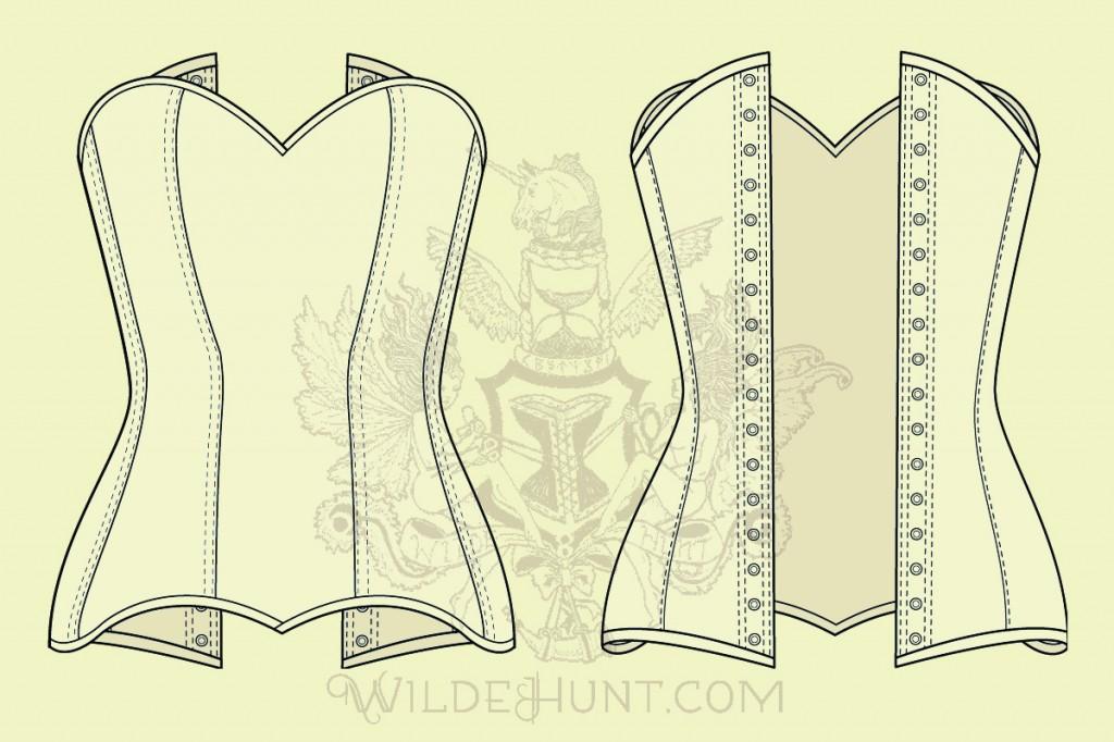 Melisende Custom Corset
